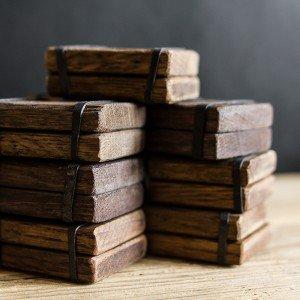 Packaging in legno per vendite online Ossi di Seppia