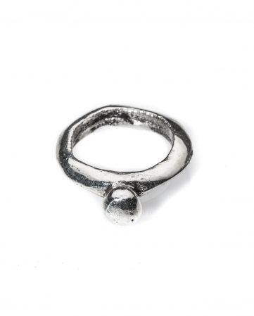Atlante, anello in argento